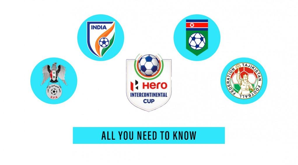 Khel Now - Hero Intercontinental Cup 2019: Fixtures
