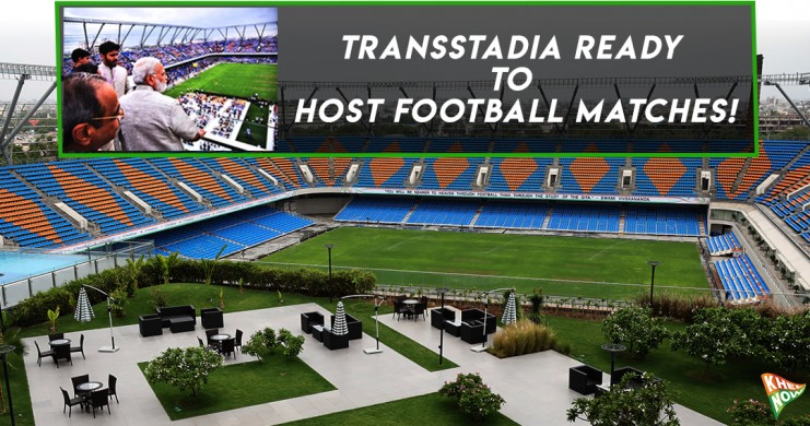 Khel Now - TransStadia officially launched by Indian PM ...