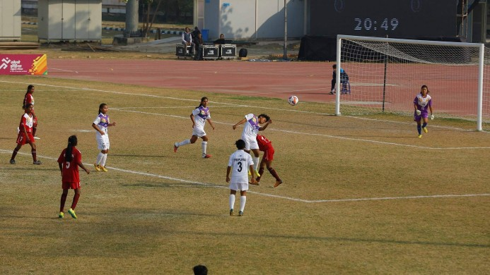 3df2c2dcc1 Khelo India Youth Games Football  Kerala U-17 Girls score 28 goals against  Himachal Pradesh