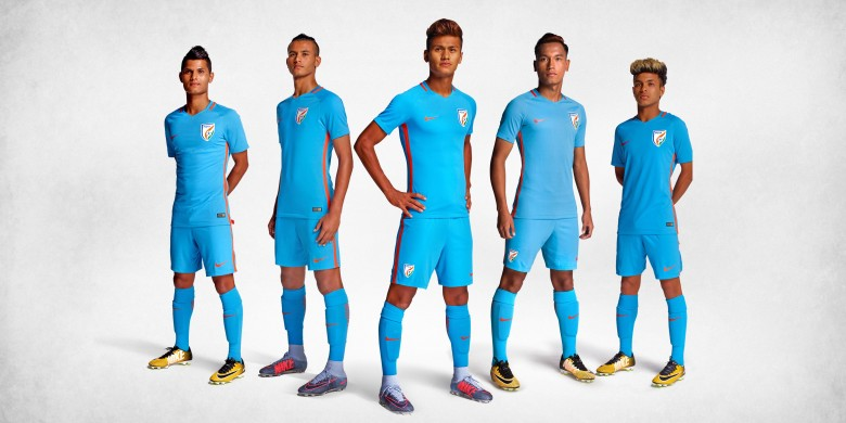4d64781c8 Nike Launches Indian Football Team Kit As India Gears Up for FIFA U-17  World Cup 2017